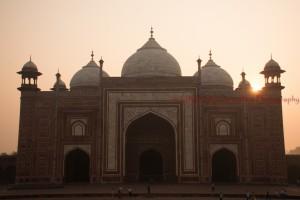 Agra Fort @ Taj Mahal