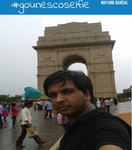 GCA2 TASK1- Visit to India Gate