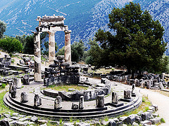 I visited this WHS in June 2014. It's one of the most crowded sites in Greece. However, most tour groups gather mainly in the shade of the trees near the Temple of Apollo and in the archaeological museum of Delphi, afraid of the scorching sun. Most don't even visit the theare and the stadium that are high above the Temple of Apollo. These were my personal favourites as they offer great views of the surrounding mountains and a great panoramic view of the Archaeological Site of Delphi. About 250 metres away, I visited the Ancient Gymnasium and the Athena Pronaia Sanctuary which has the famous tholos (picture). All in all a great classical site but not the best Greece has to offer.