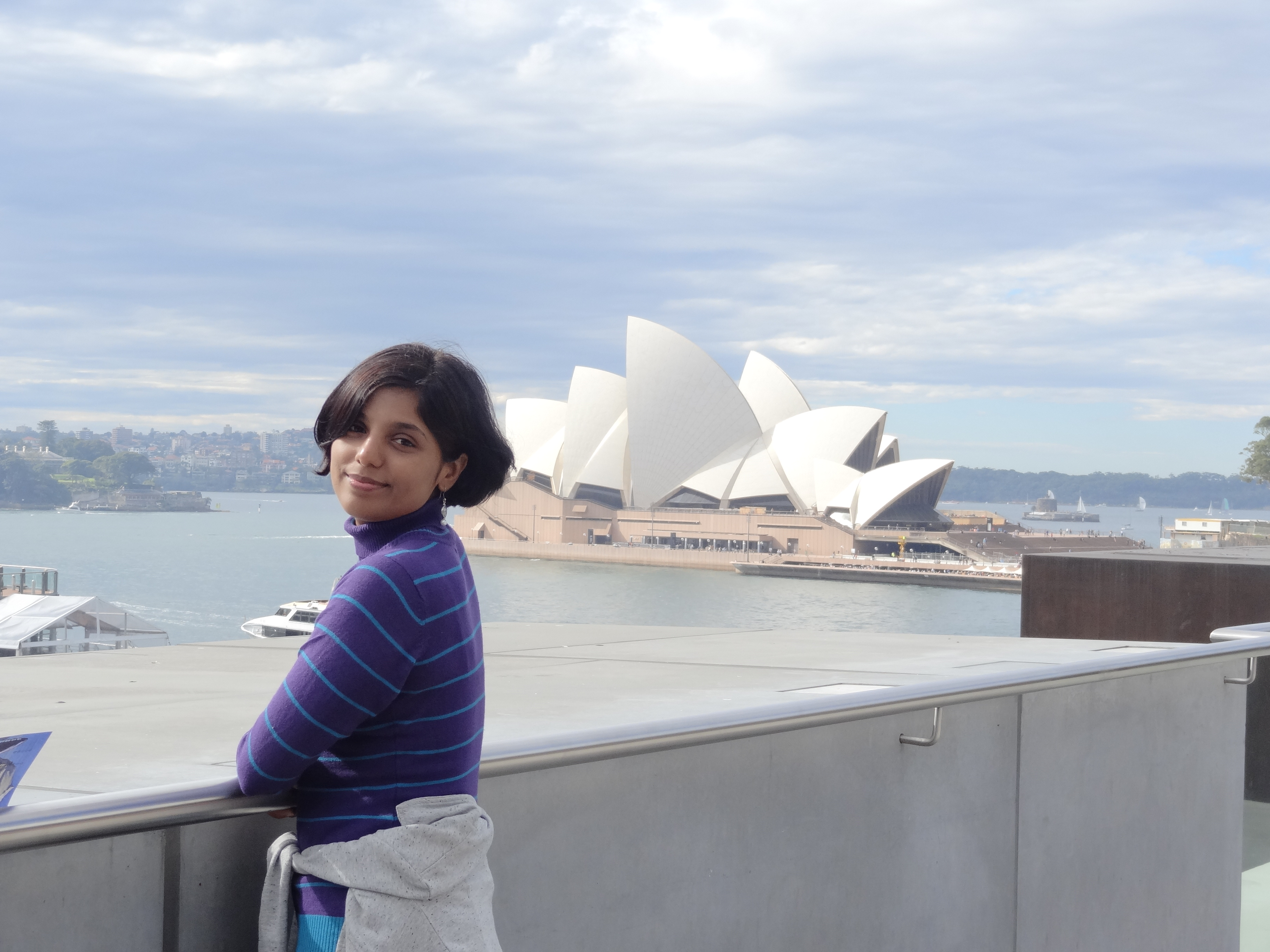 I saw Opera day and night and even during Vivid Sydney in lights. It was awesome. Pls read more here Sunrise @ Opera http://giriyana.blogspot.in/2014_05_01_archive.html