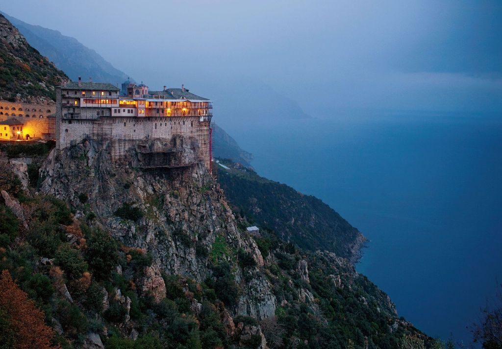 Closest To Christ- Mount Athos