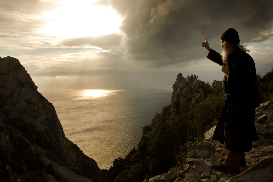 monks-chanting Closest To Christ- Mount Athos