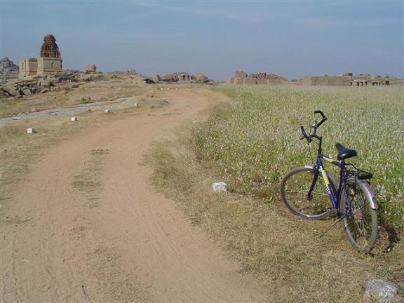 Bicycle at Hampi