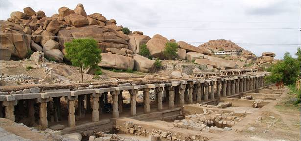 Lesser Known Ruins in Hampi