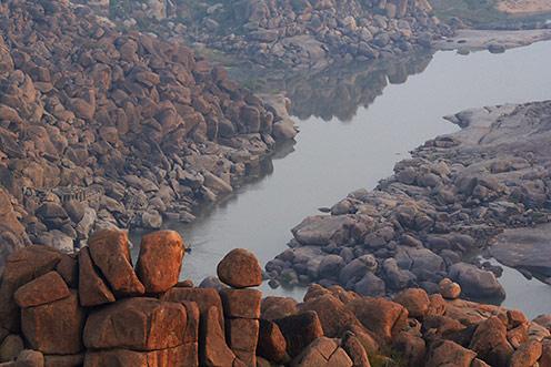 River in Hampi