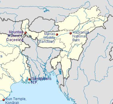 Myunescotrip: Northeast India