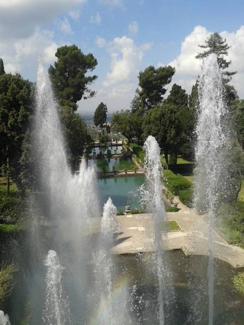 Tivoli is a perfect place for a one day trip from Rome
