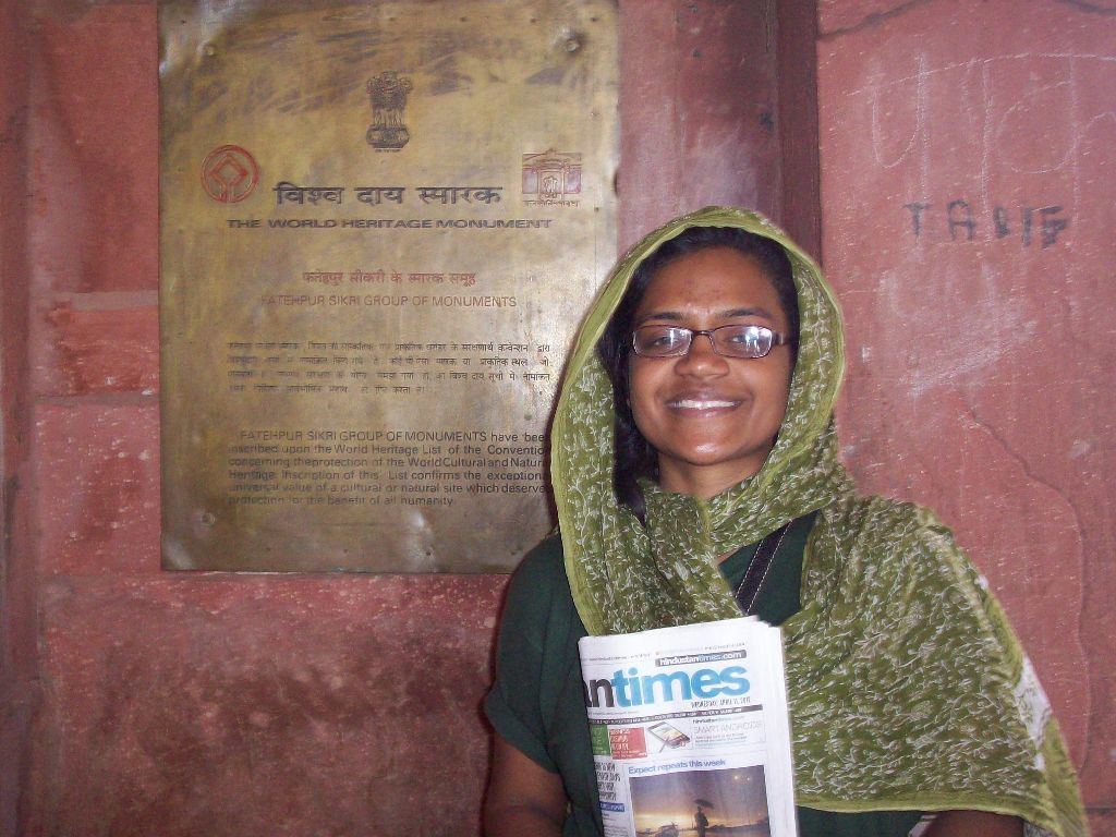 Fatehpur Sikri Shravya