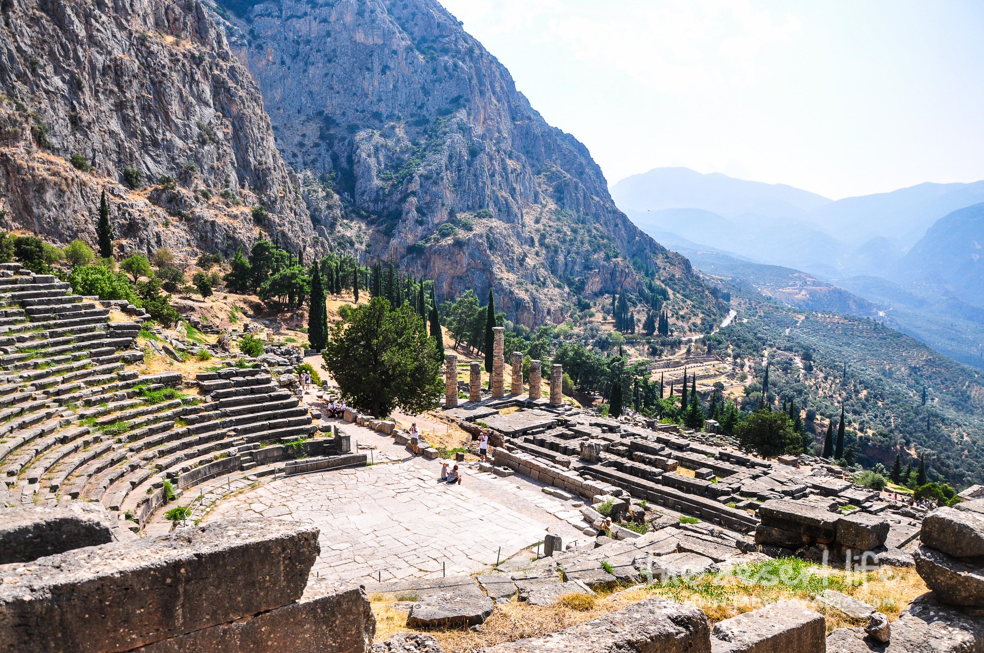 Delphi-Greece Archaeological Site of Delphi