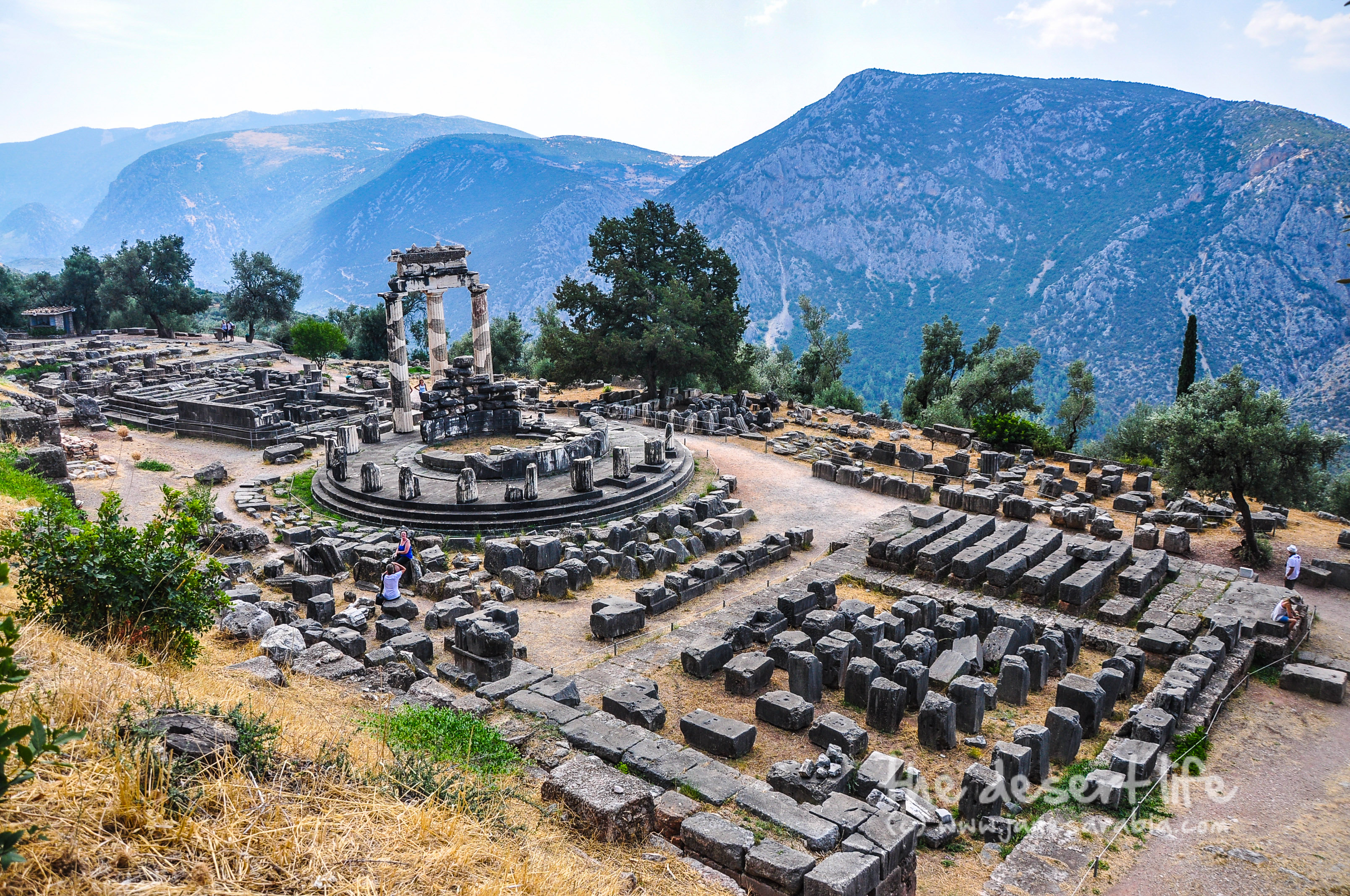 Delphi-Greece Archaeological Site of Delphi