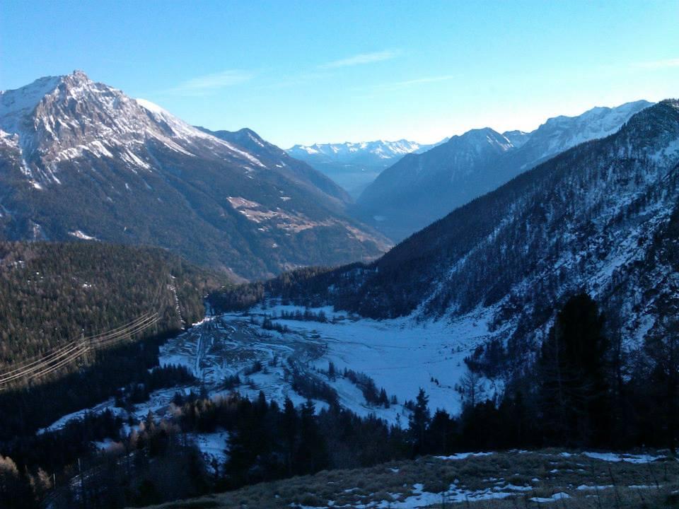 Rhaetian Railway in the Albula / Bernina Landscapes