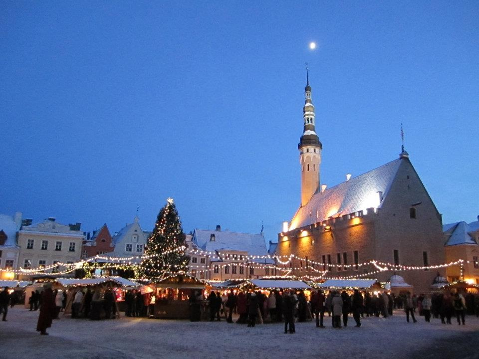 My friend and I spent a couple nights in Tallinn over New Year's Eve before heading to Finland for a week in January 2012.