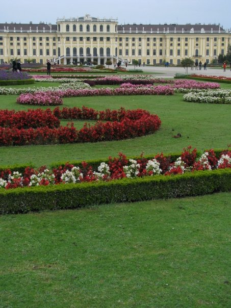 The first month I was living in Austria for my university study abroad, some of us took a weekend trip to Vienna. We went to Schönbrunn palace and enjoyed the gardens. A few months later my history class took another trip to Vienna and we toured inside the baroque palace.