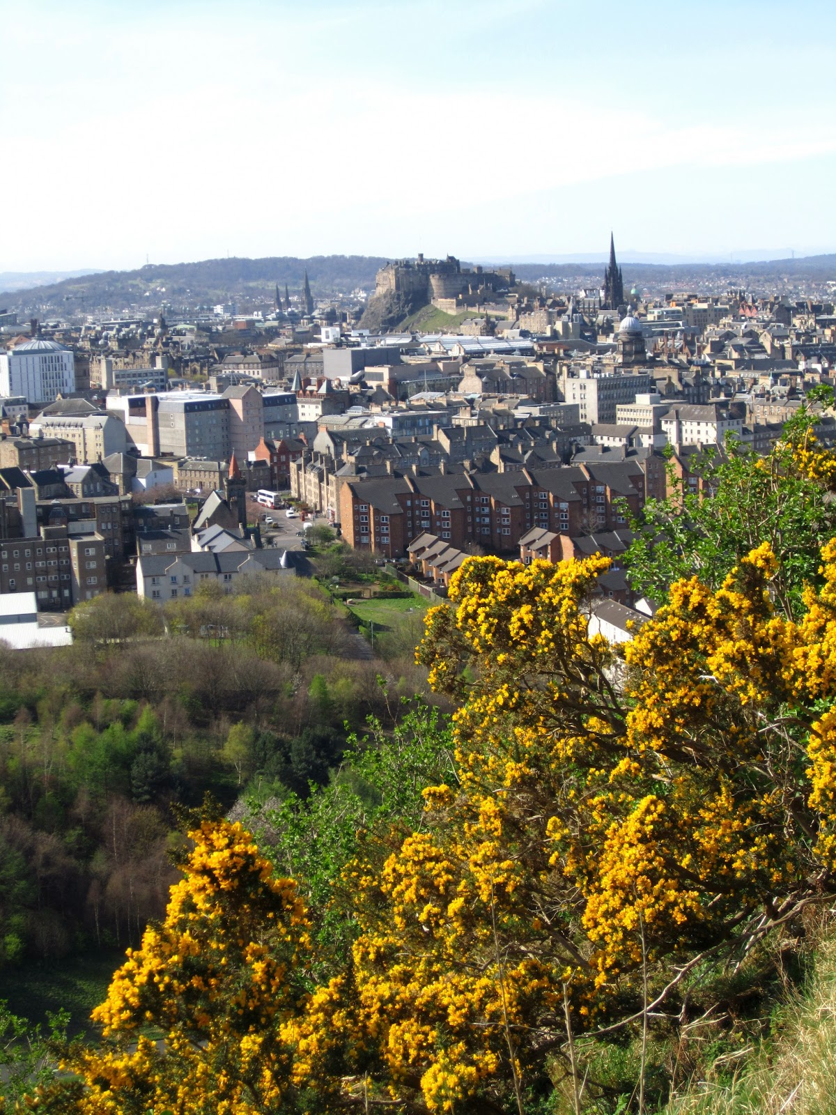 I traveled to Scotland for a week in Spring 2012. The first couple days were spent in Edinburgh, as were the last two. The city's haunting beauty, charming people and immense history totally enchanted me. One of my favorite cities!