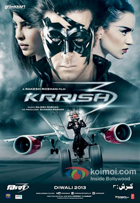 Priyanka-Chopra-Hrithik-Roshan-and-Kangana-Ranaut-in-a-Krrish-3-movie-Review-Pic-1