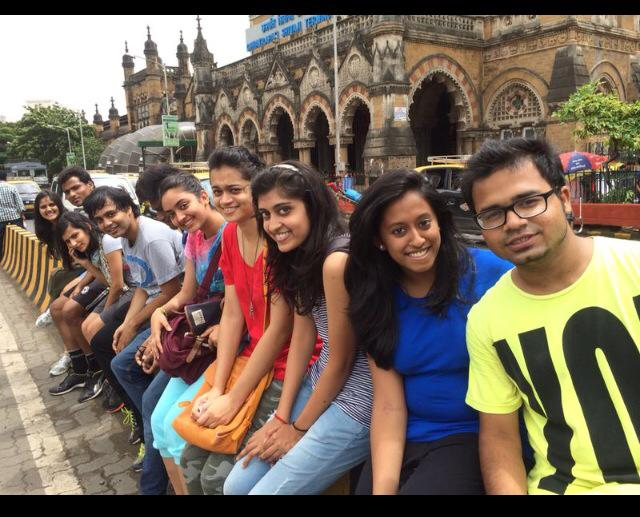 A wonderful experience with friends travelling to Central Mumbai :)