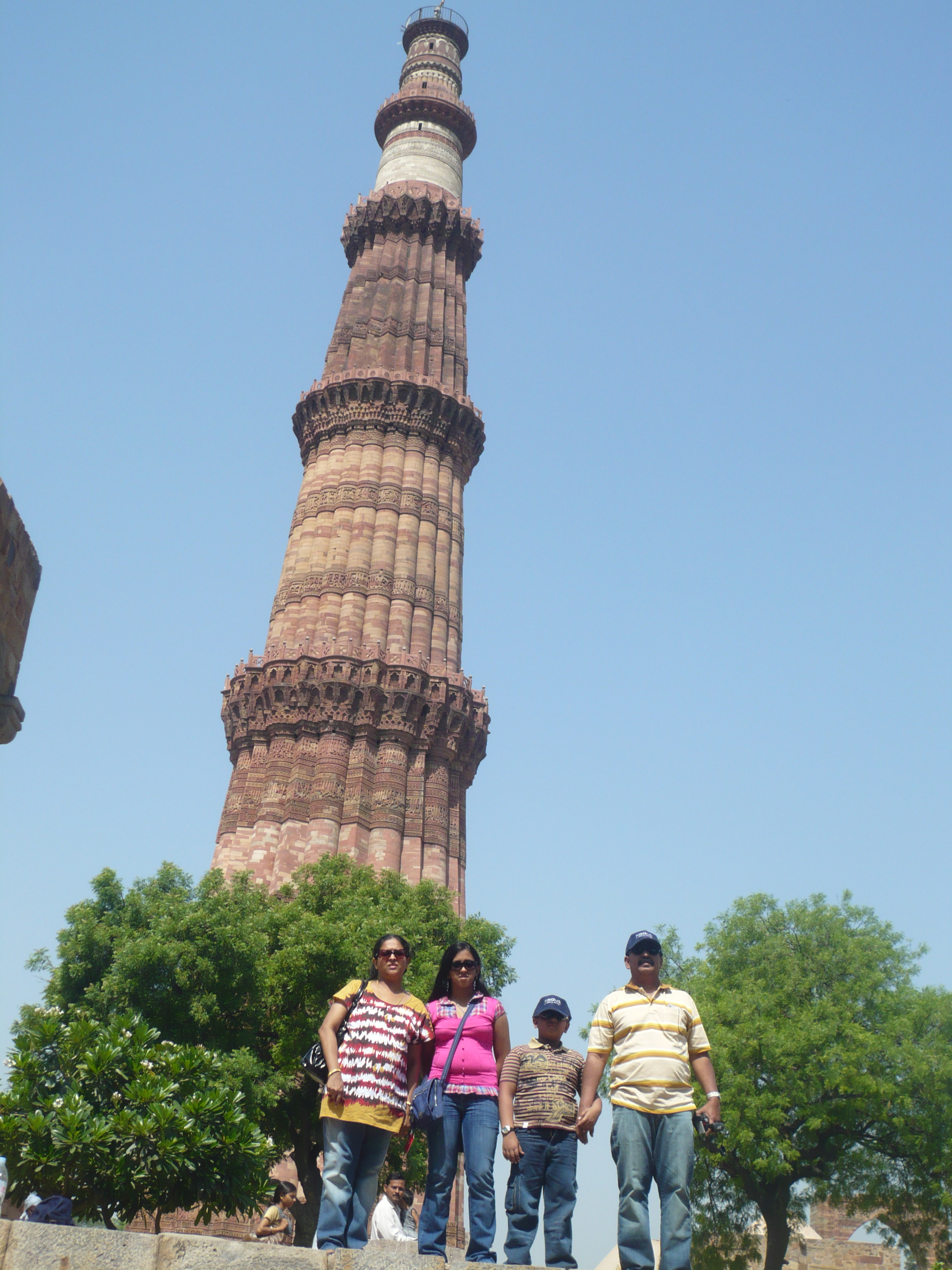 Amazing experience  with family at the Qutb Minar