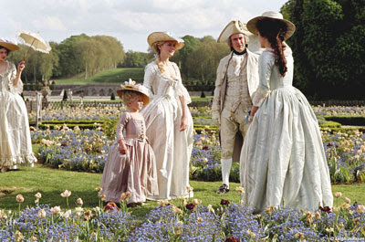 marie antoinette with kirsten dunst by sofia copolla gardens still of the film