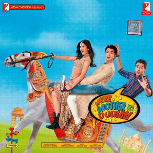 Mere Brother Ki Dulhan - CD Cover - Front