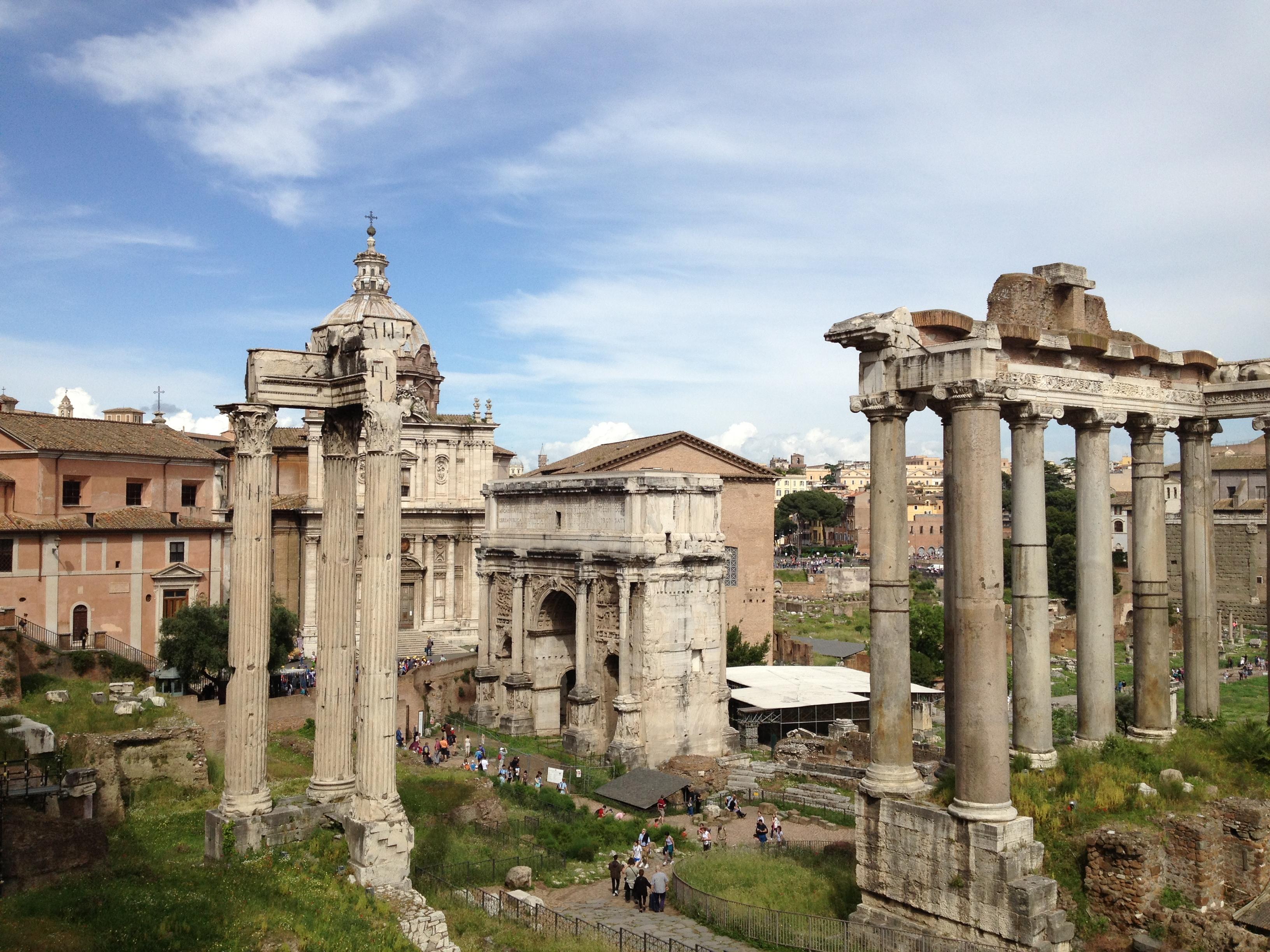 Colosseum, Rome, Vatican