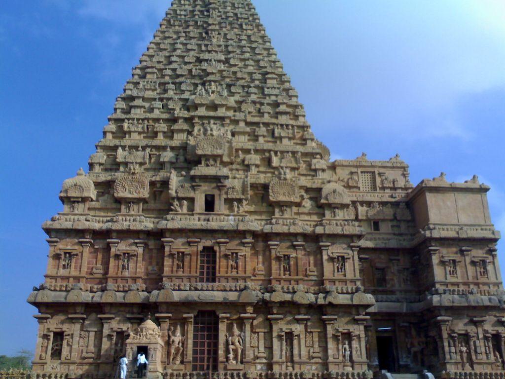Tanjore- chola temple Periya Kovil, the Brihadeshwar temple
