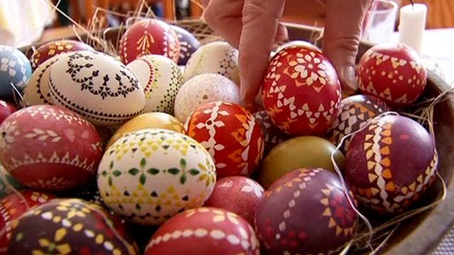 Image of Easter Eggs taken from http://www.bbc.co.uk/news/world-europe-27081047