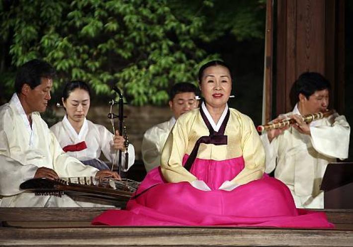 REPUBLIC OF KOREA Gagok, lyric song cycles