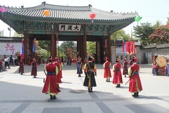 seoul palaces and jongmyo shrine