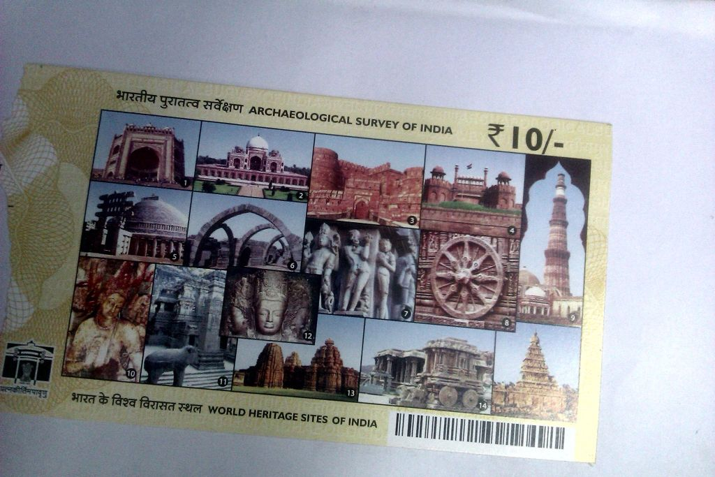 Ticket to world heritage sites in India