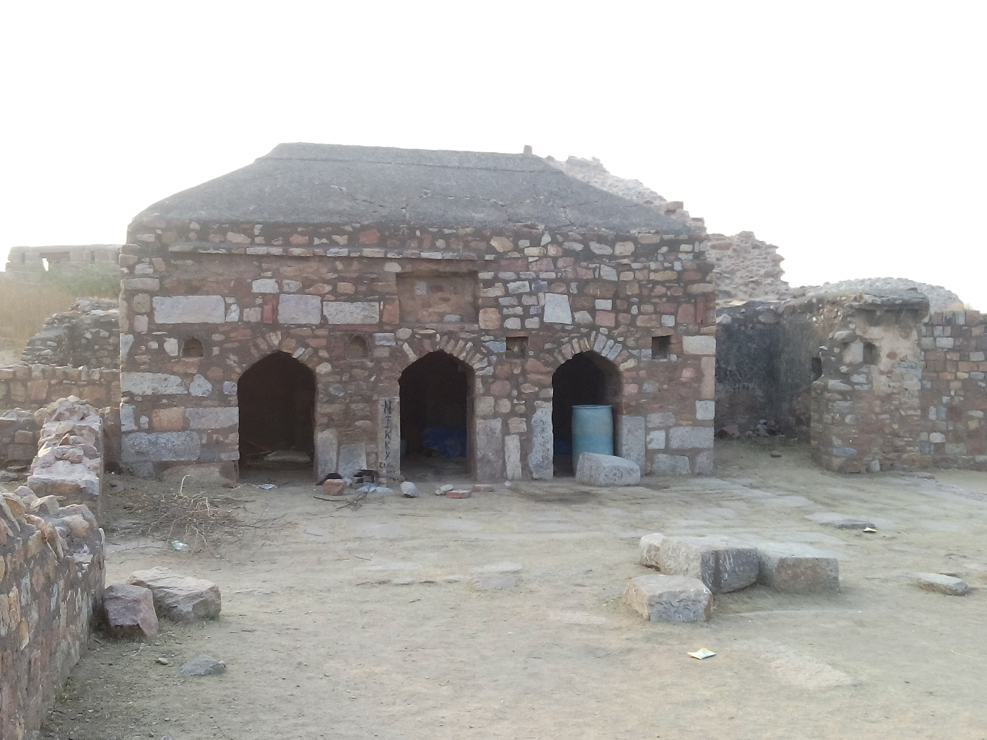Inside Tughlaqabad Fort