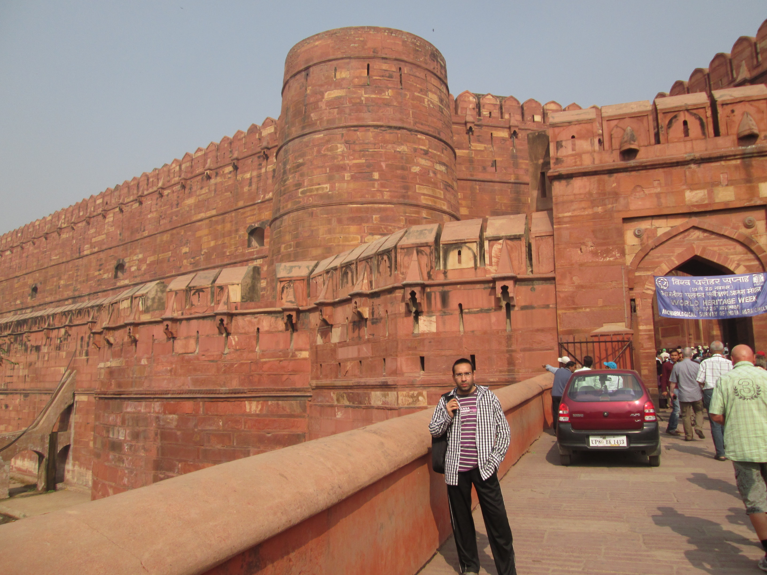 Shashank, Agra Fort, Agra
