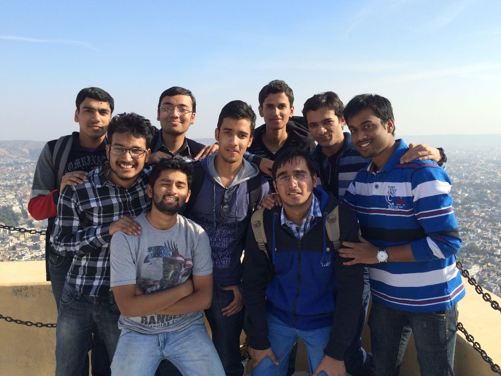 The Boys - at Nahargarh Fort