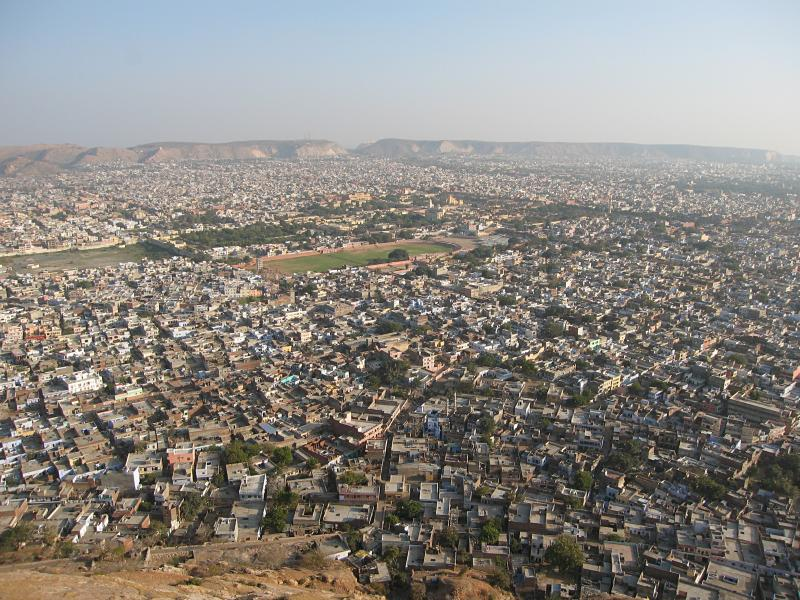 View from the Nahargarh Fort