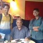 With Mr. Parvez Patel
