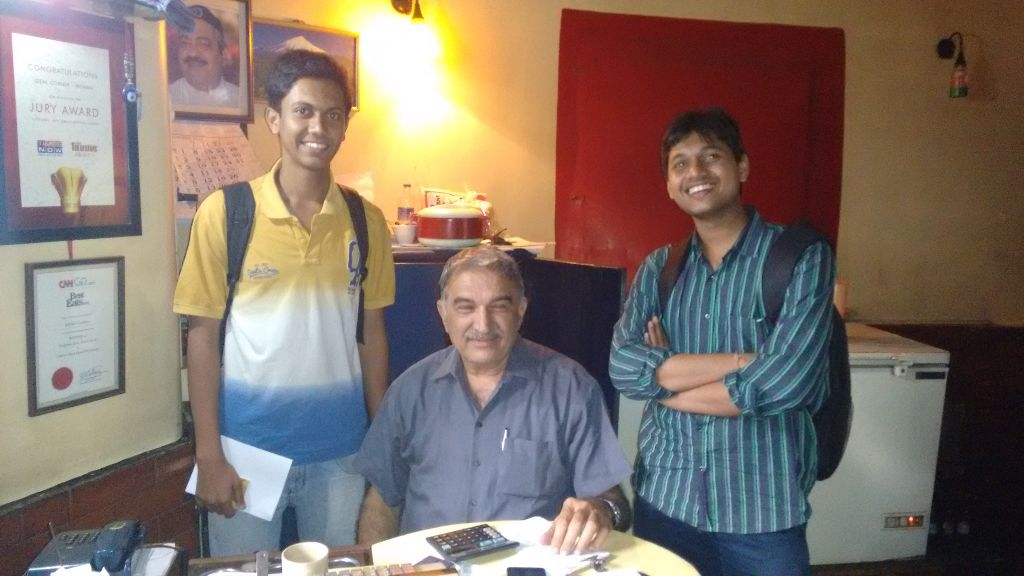 With Mr. Parvez Patel