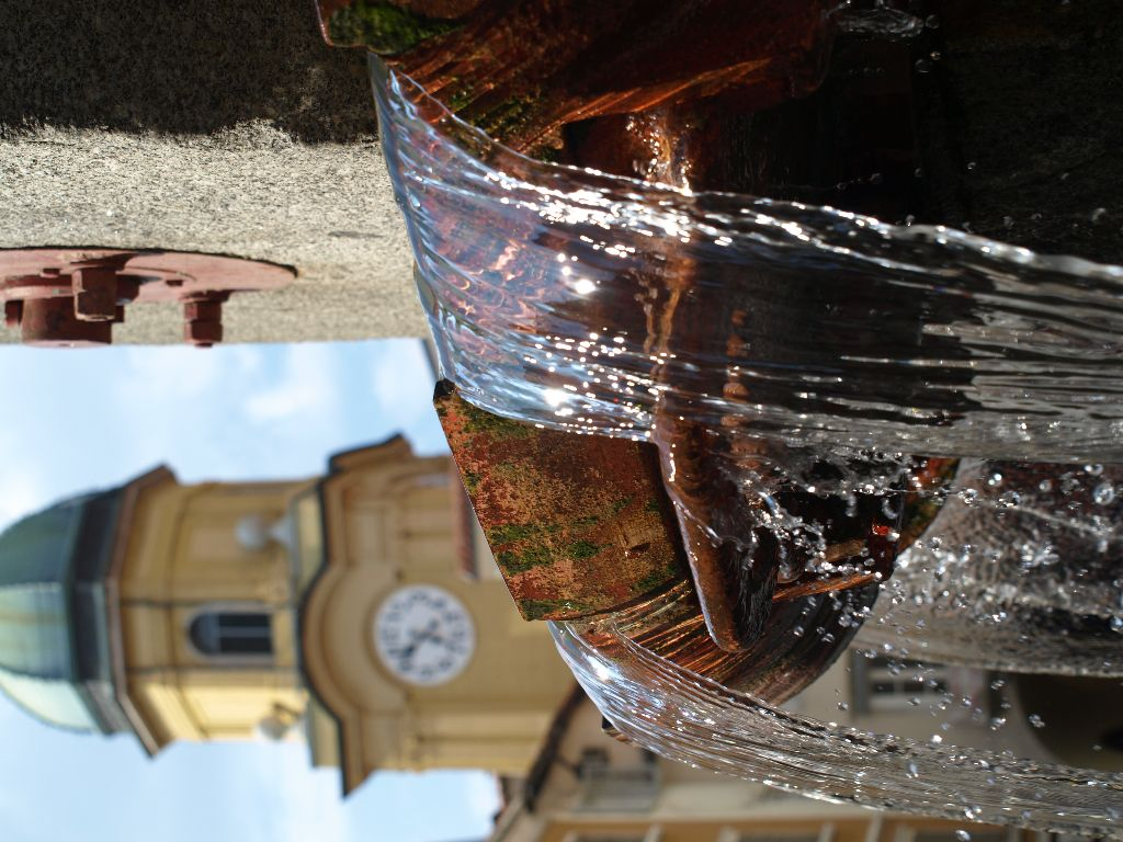 Fountain and Clock Tower