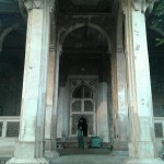 Entrance of Ghaus's mausoleum.