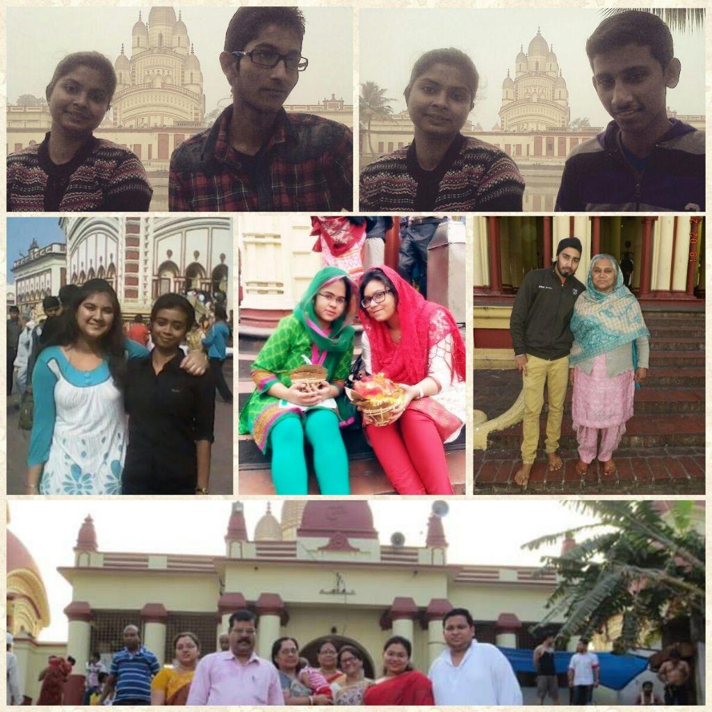 Friends at Dakshineshwar