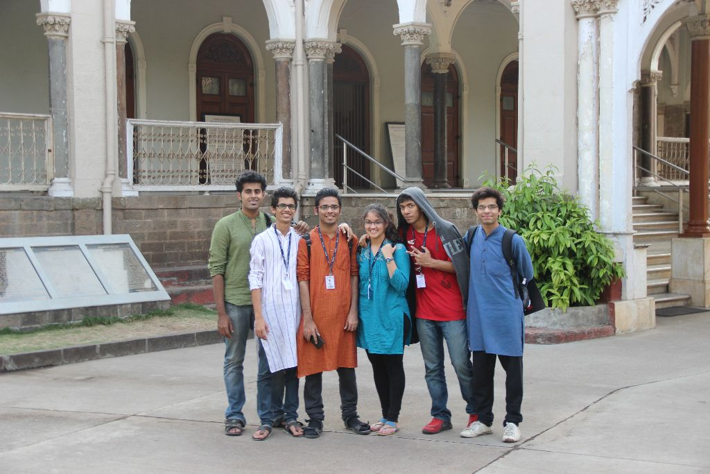 With Friends at Aga Khan Palace