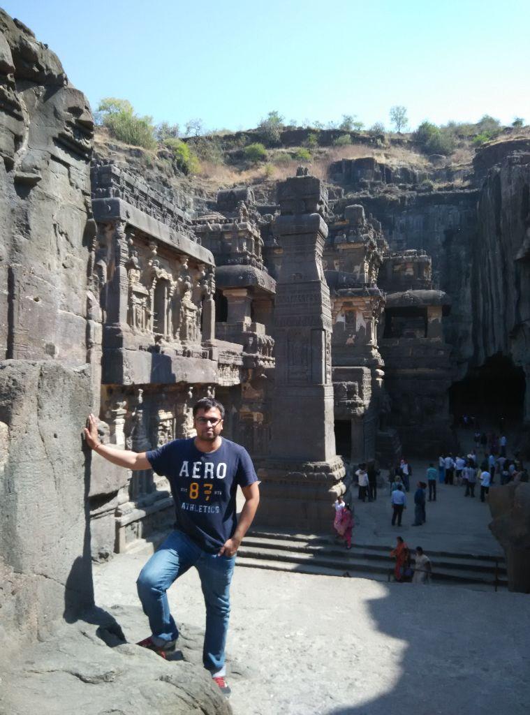 ellora caves akshar