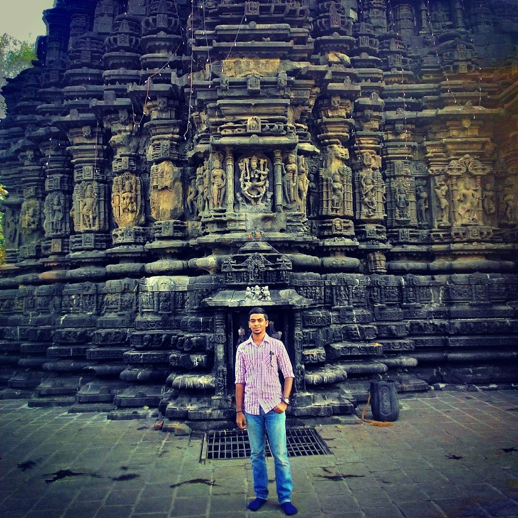 Shiva Temple by Akshay