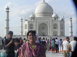 The pride of India: Taj Mahal