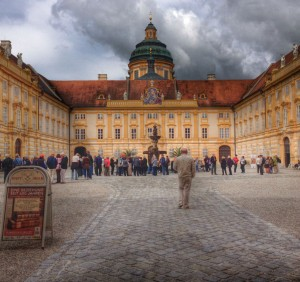 The Benedictine Abbey of Melk at Wachau