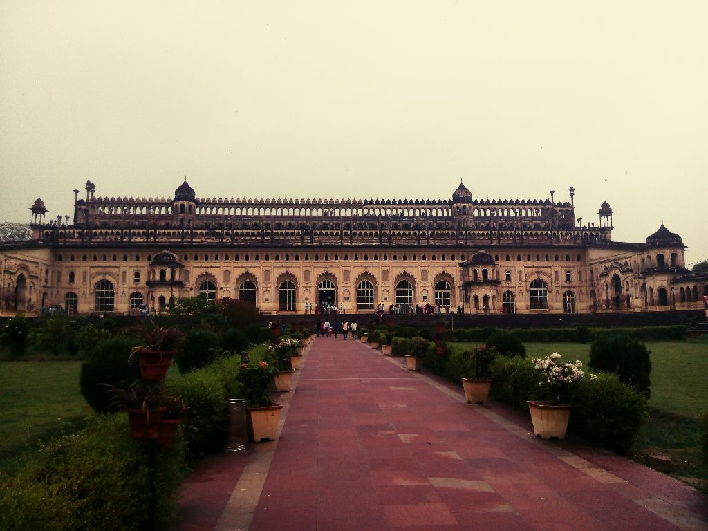 Bara Imambara of Nawab Asaf-ud-Daula, built in 1784