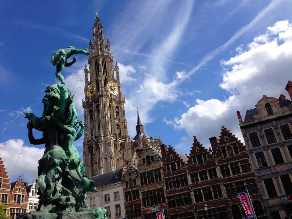 Belfries of belgium