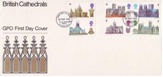 British Cathedrals First Day Cover