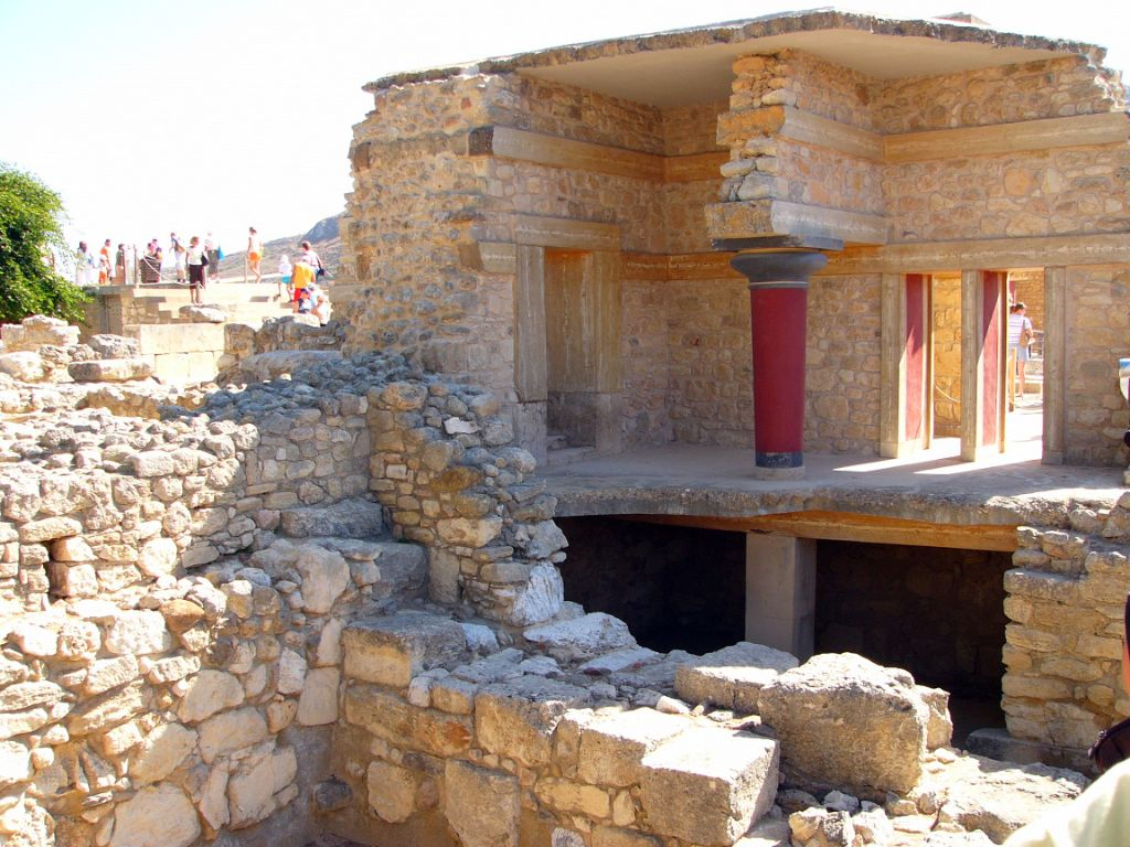 Palace of Knossos in Heraklion, Crete - photo by Trine Juel