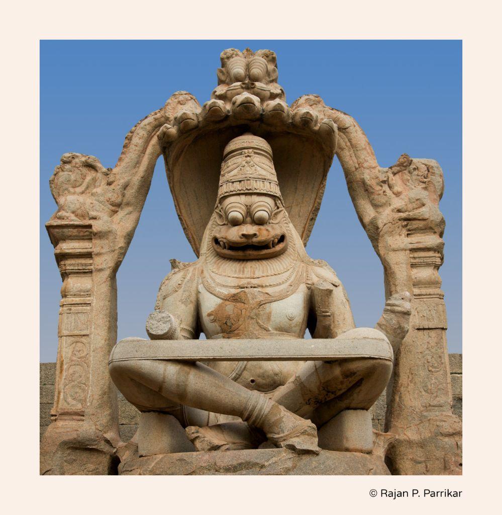 Narasimha statue - via google