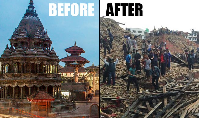 before-and-after-nepal-heritage sites