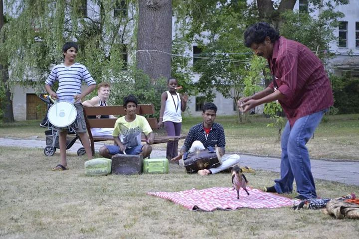 A Kathputli show
